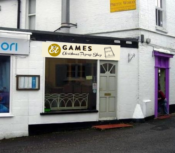 Et Games opens Pop-Up Shop!